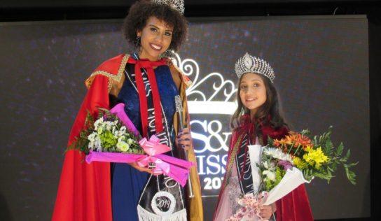 Tawane Mayra Rodrigues e Izabella Vitória da Silva são as novas Miss e Mini Miss Monte Alto