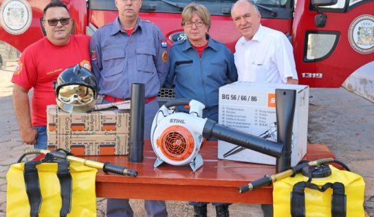 Brigada de Incêndio recebe novos equipamentos