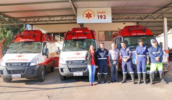 Novas ambulâncias do SAMU atendem a população a partir do dia 20