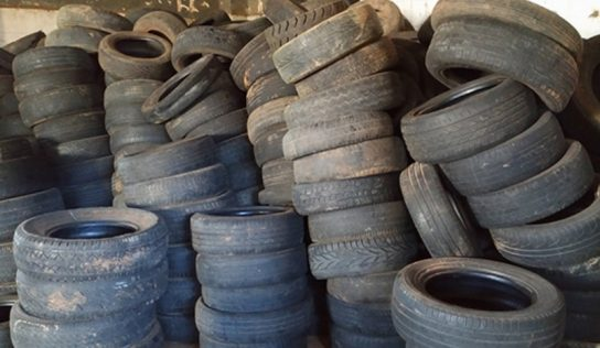 Desde 2015, pneus usados na cidade tem destino correto e longe do meio ambiente