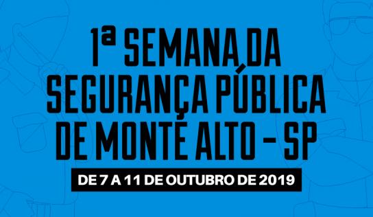 Segurança pública é discutida em primeira edição de ciclo de palestras
