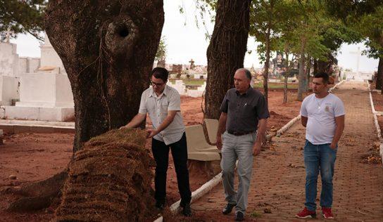 Obras no cemitério de Aparecida de Monte Alto continuam