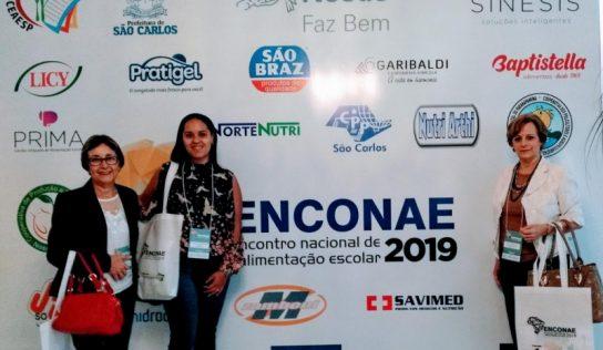 Monte Alto participa de Encontro Nacional de Alimentação Escolar