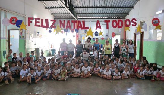 Educação Infantil recebe espetáculo em comemoração ao Dia das Crianças
