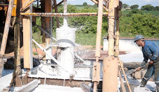 Sabesp inicia perfuração do novo poço que abastecerá Monte Alto