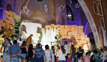 Santuário da Virgem Montesina apresenta sua decoração natalina