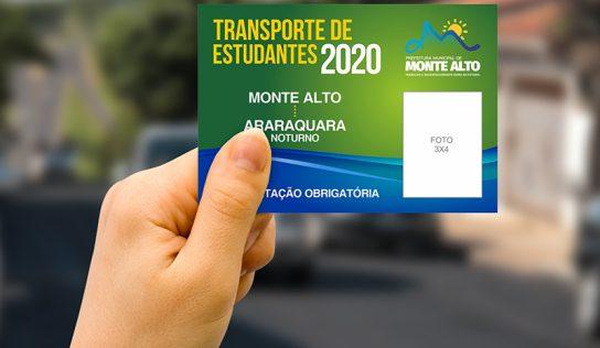 Estudantes podem solicitar carteirinha de transporte a partir do dia 22
