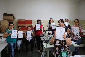 Fundo Social de Solidariedade abre nova turma de Corte e Costura