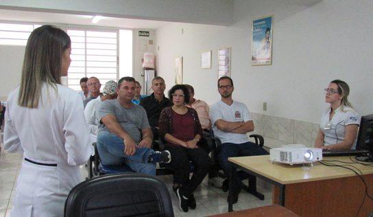 Saúde realiza treinamento sobre esterilização para profissionais da rede municipal