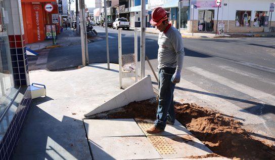 Cidade para todos: Monte Alto recebe mais de 400 novas rampas de acessibilidade