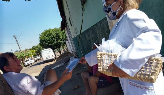 Distrito de Aparecida tem ação de combate ao coronavírus