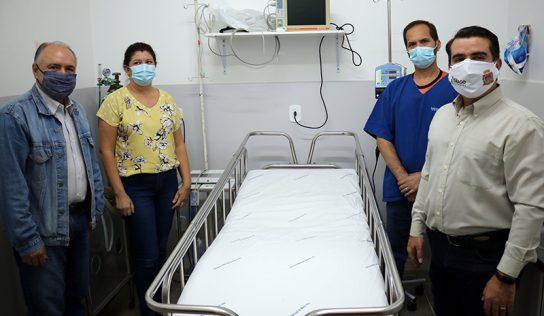 Pronto Socorro recebe novo leito de emergência para ambulatório Covid-19
