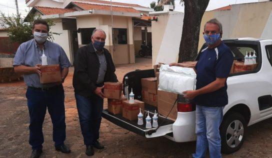 Prefeitura recebe álcool em gel da Fiesp
