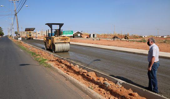 Em ritmo acelerado, obras na Willian Cestari devem ser concluídas até setembro
