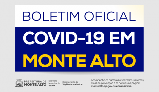 Boletim Oficial COVID-19 – 20 de setembro de 2020