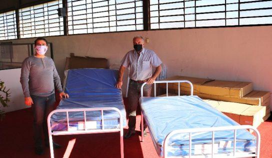 Saúde recebe novas camas para pacientes em tratamento domiciliar