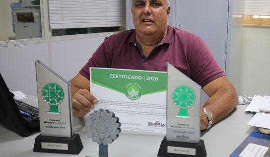 É tetra: Monte Alto conquista mais uma certificação no Município VerdeAzul