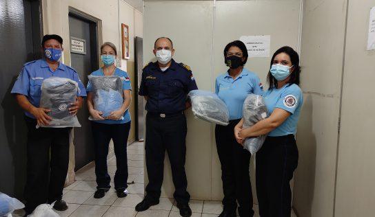 Guardas Patrimoniais recebem novo uniforme