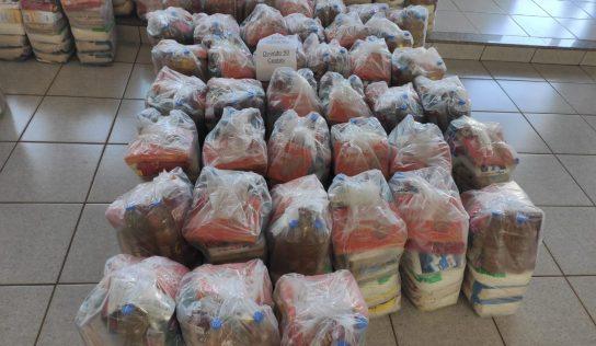 Fundo Social recebe 348 cestas básicas na 1ª semana