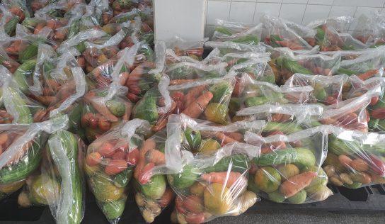 Educação e Central de Alimentos seguem entrega de 'kit hortifruti'