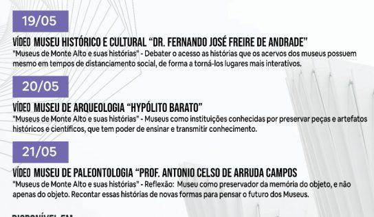 Monte Alto integra 19ª Semana Nacional dos Museus