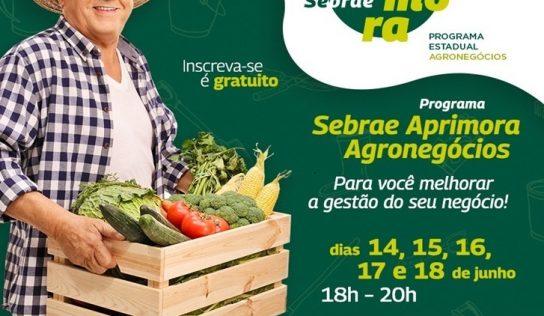 Sebrae apresenta o Aprimora – Agro