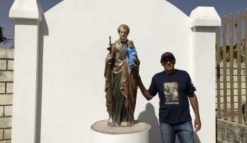 Ibitirama recebe doação de Oratório a São José