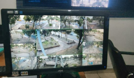 """""""Praça dos Peixes"""" ganha sistema de monitoramento"""